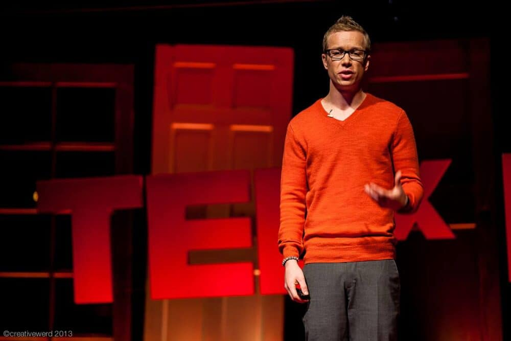 Speaking at TEDxBoulder
