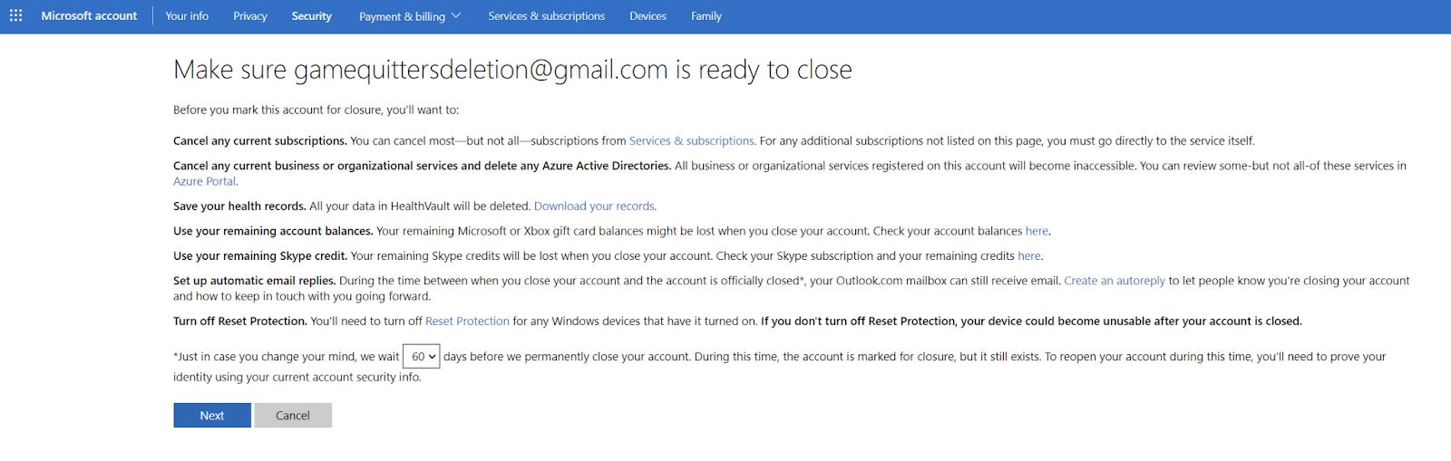 delete minecraft account microsoft