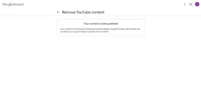 YouTube Has Been Deleted