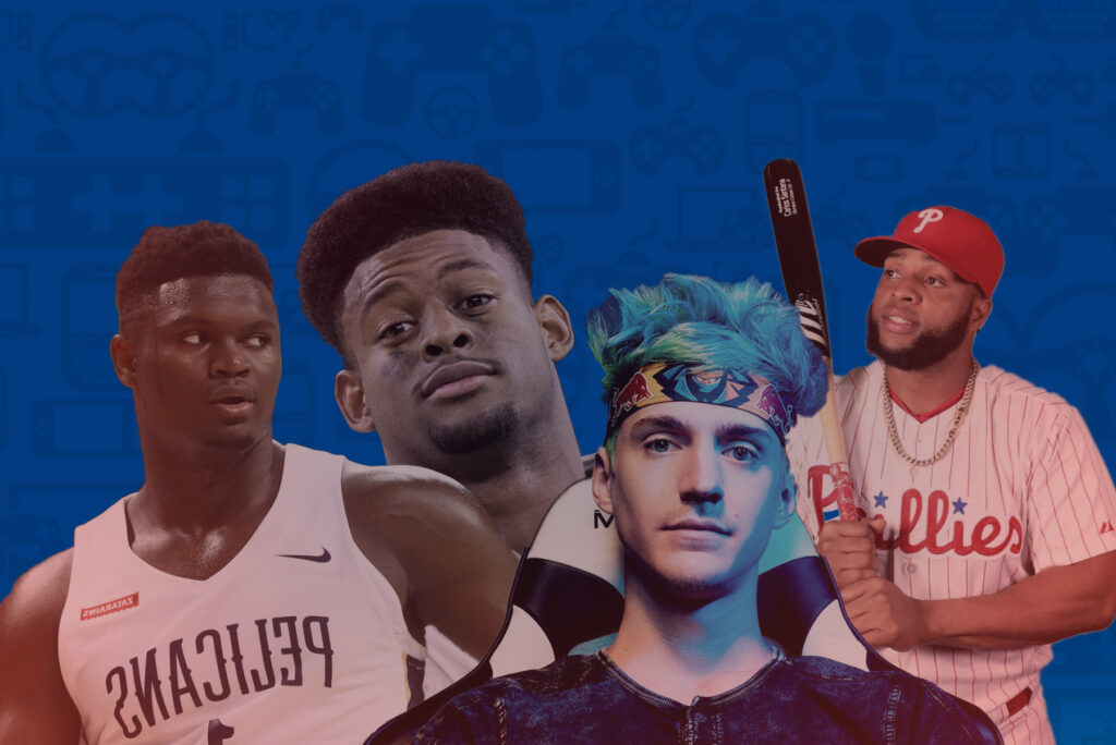 professional athletes addicted to gaming