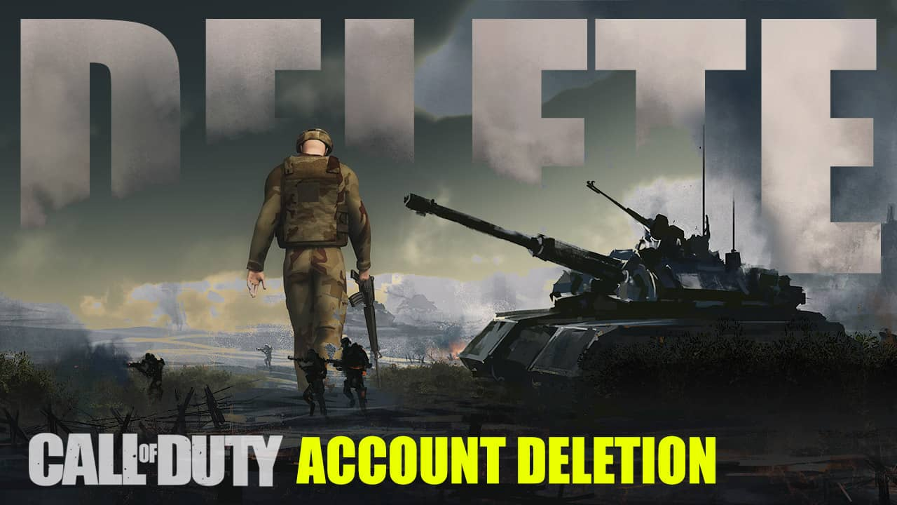 how to delete your call of duty activision account