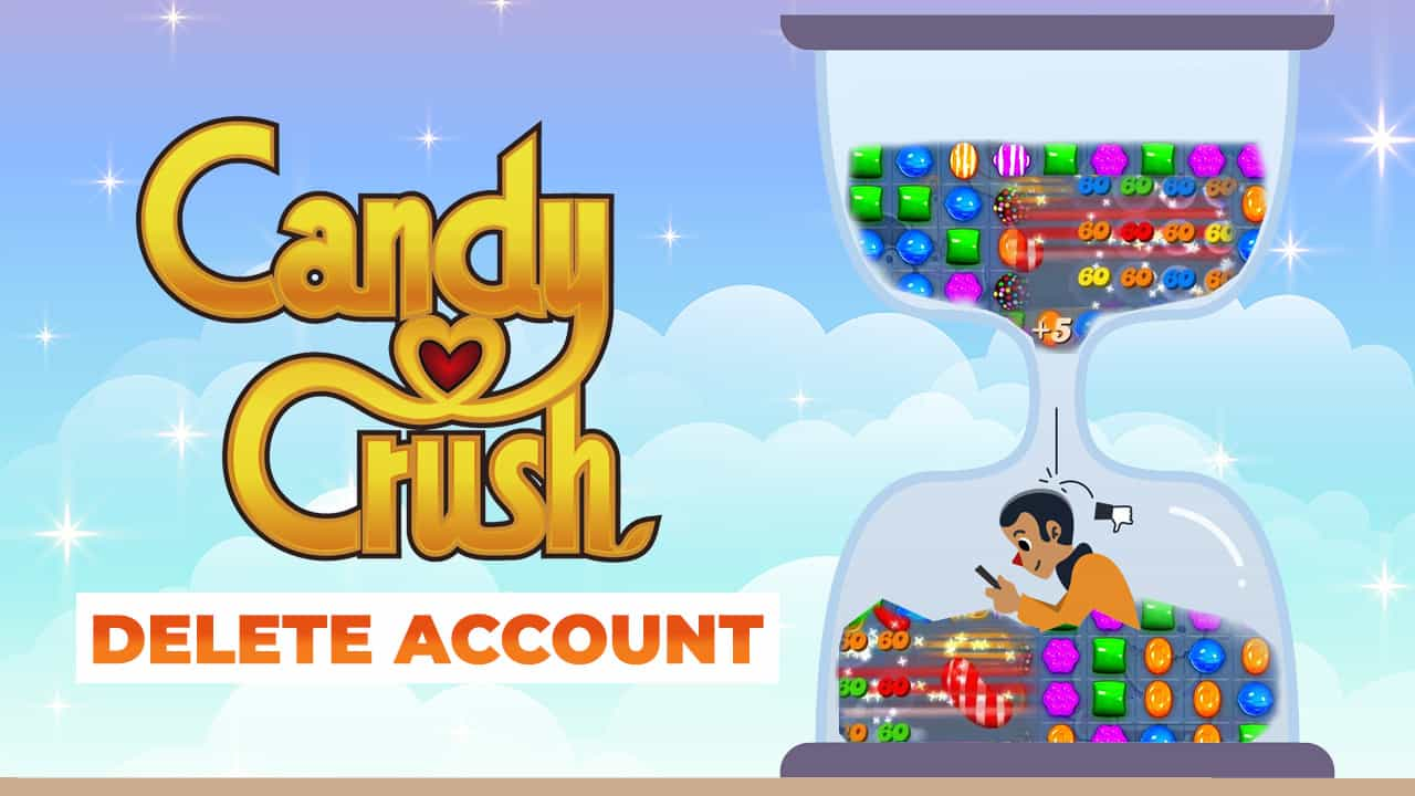 how to delete your candy crush account